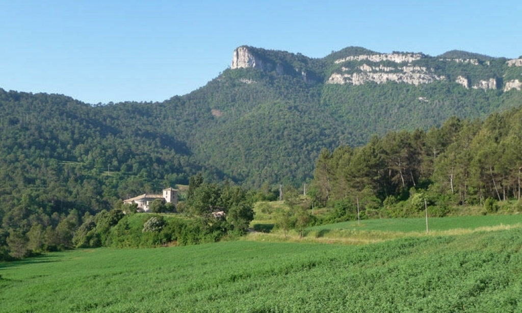 surroundings around our house in Sant Martí de Centelles