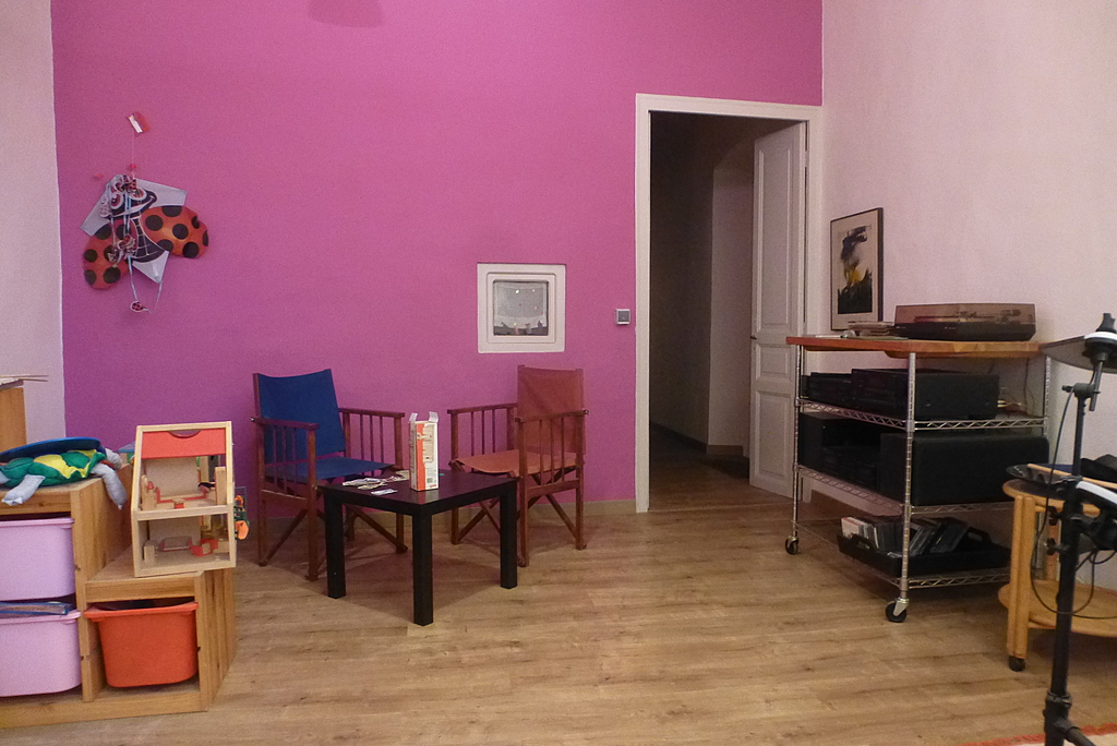 music and playing room