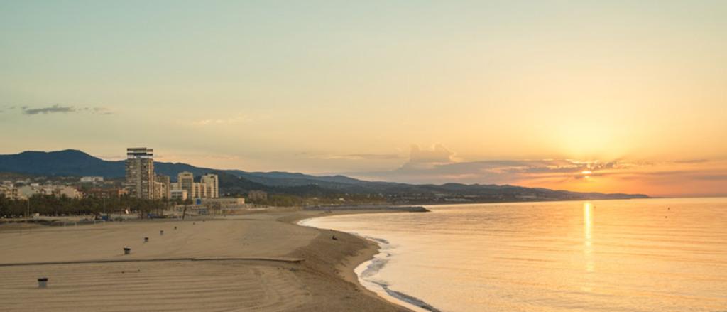 Mataro: The beach closest to our home