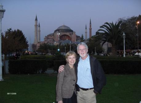 Us on a visit to Istanbul