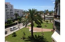 Vista de la playa desde nuestra terraza