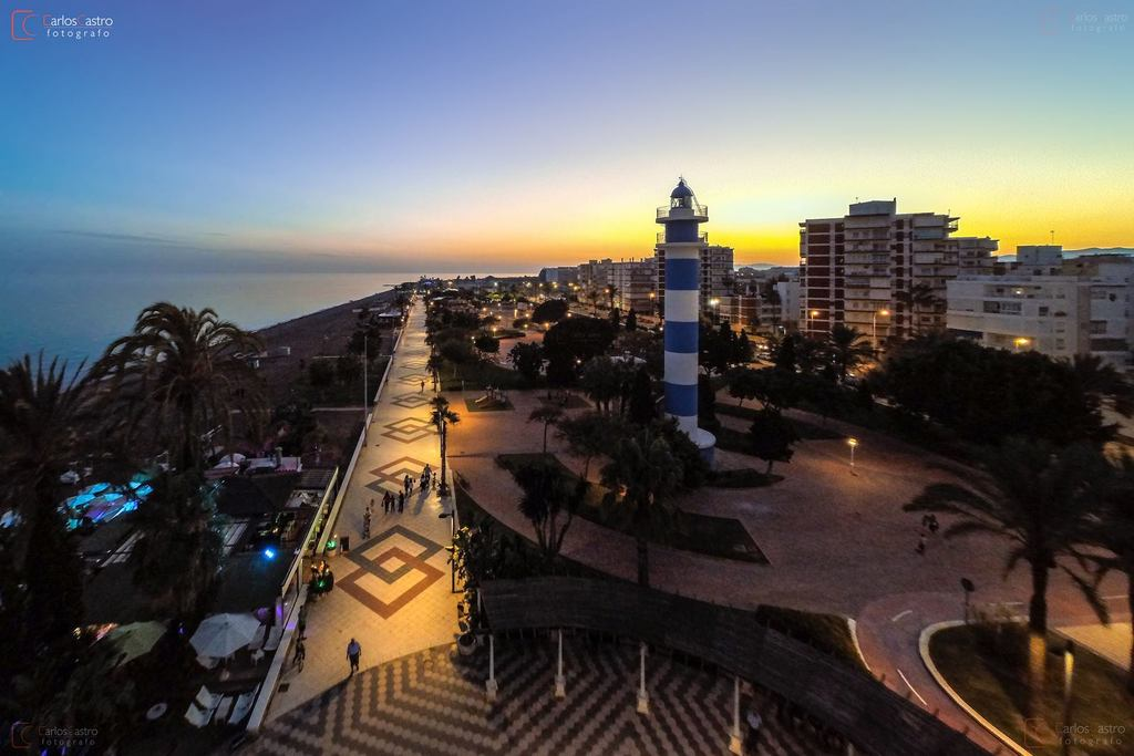 Velez-Malaga, Promenade & Light house