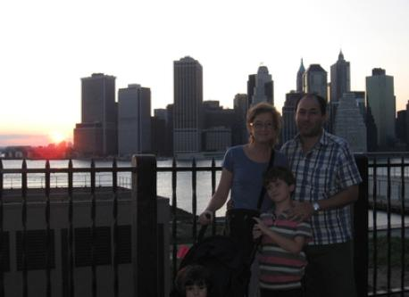 Family in New York 2009
