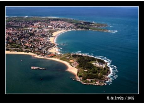 Santander desde el cielo