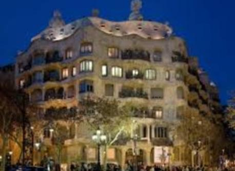 "Gaudi's famous building ""La Pedrera"" 20 min walk from home"