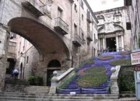 Girona city center