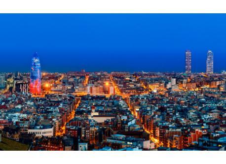 Barcelona (40m by train)