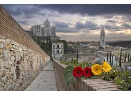 Girona's protection wall