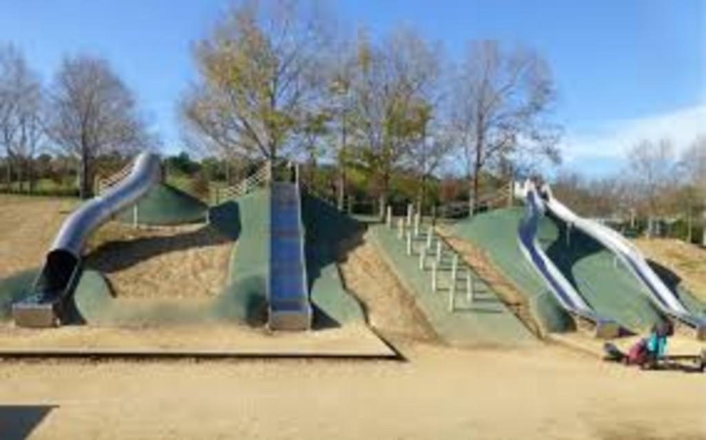 Special playground at Can Mates park in Sant Cugat