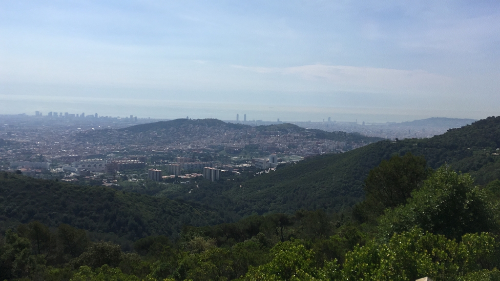 Collserola (Natural Park, 10 min walking from our home)