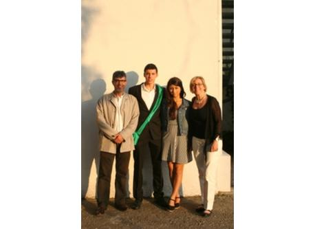 Our family at Marcel's graduation