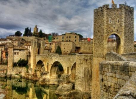 Besalú, a medieval town