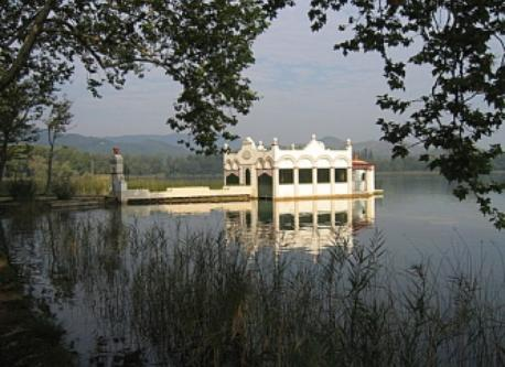 Banyoles, nice lake near lladó