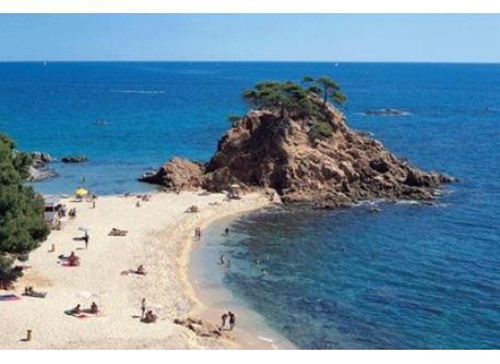 One of many Costa Brava's beach
