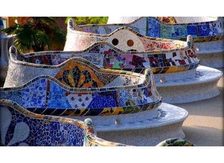 Parc Güell, Gaudi