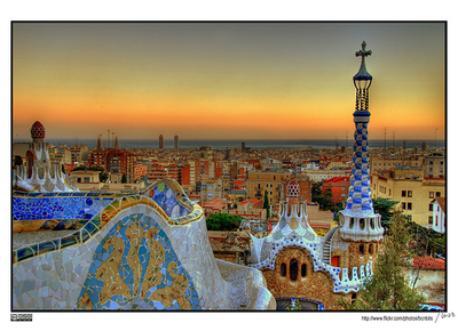 Barcelona desde el Parc Güell