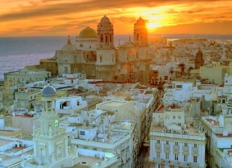 Cadiz. Historic and beautiful city to visit, 30 km