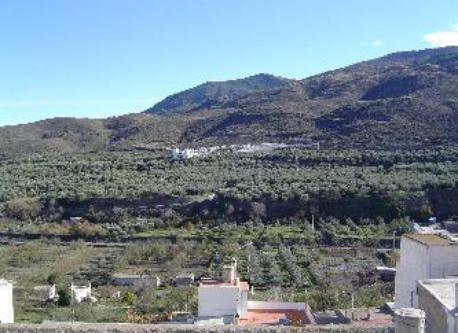 Vista panorámica desde la terraza de la casa