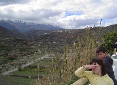 Vista Sierra Nevada desde Abla