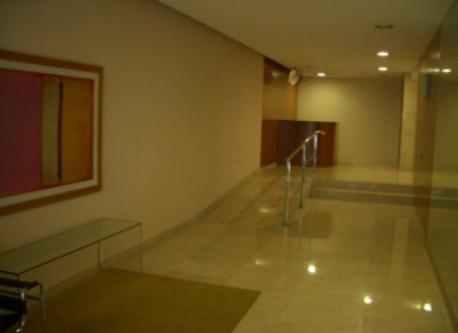 Vestibule of building.