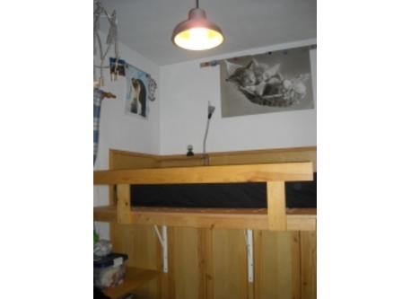 One of three single bedrooms.