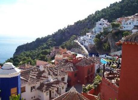 Urbanización desde el balcón.