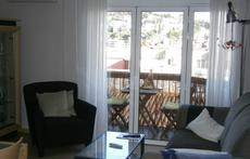 Living-room & balcony