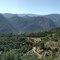 Vistas desde el Vall de Laguar hacia el interior.