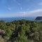 Vistas desde el Vall de Laguar hacia el mar.
