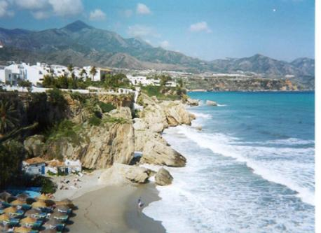 Cliff at Nerja