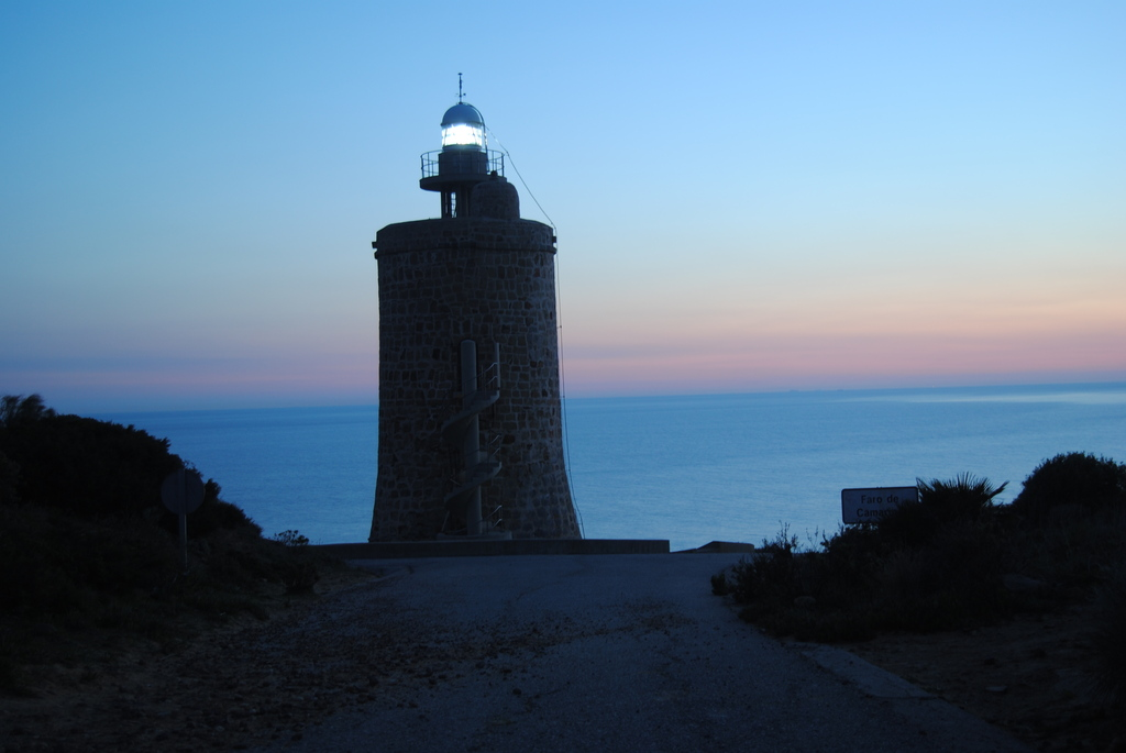 Sunset in the Lighthouse Camarinal