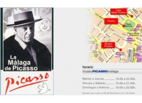 En Málaga, entre otras cosas, se puede visitar el museo de Pablo Picasso.