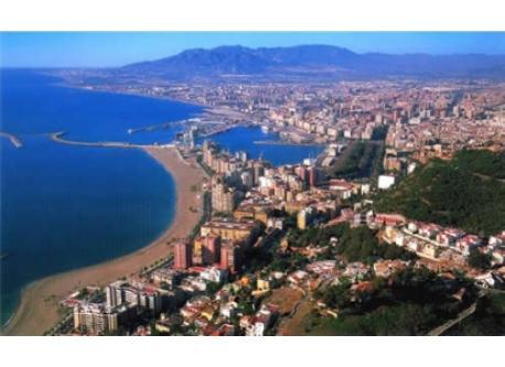 Una vista de Málaga