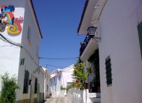 Pueblo de la serranía de Ronda. Gaucin