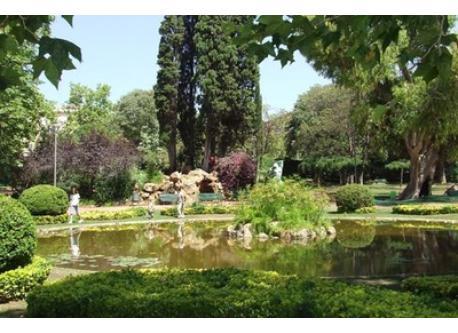 Gardens of Santa Amelia right next to our house