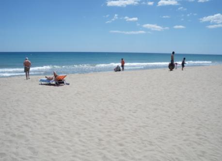 Aspecto Playa de Creixell