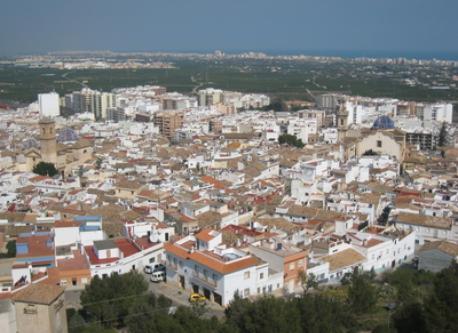 Oliva, town