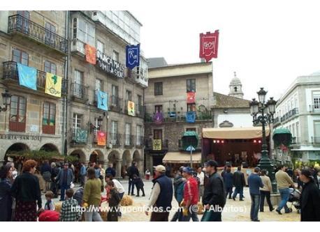 Plaza Constitucion en Vigo