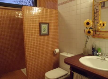 Bathroom on the main floor
