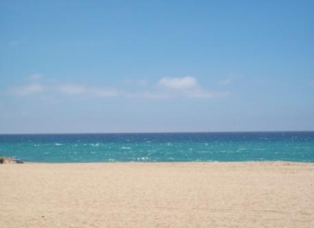 sight of the beach