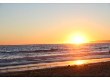 Sunset in Zahara