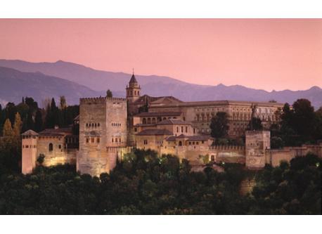 Alhambra (Granada) 1'5 hours drive