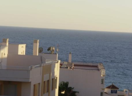 Right View from the terrace (the beach 200 metres)