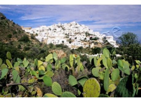 A view of Mojacar.