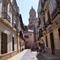 A traditional street in Málaga