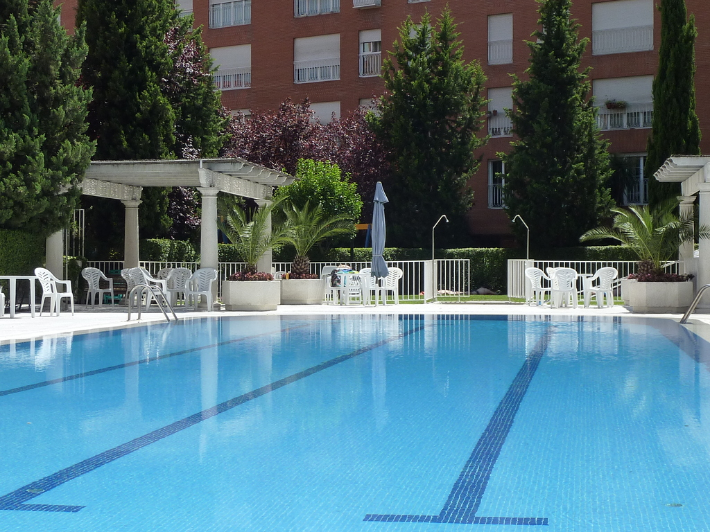 Big & sunny swimming pool (only open in summer)