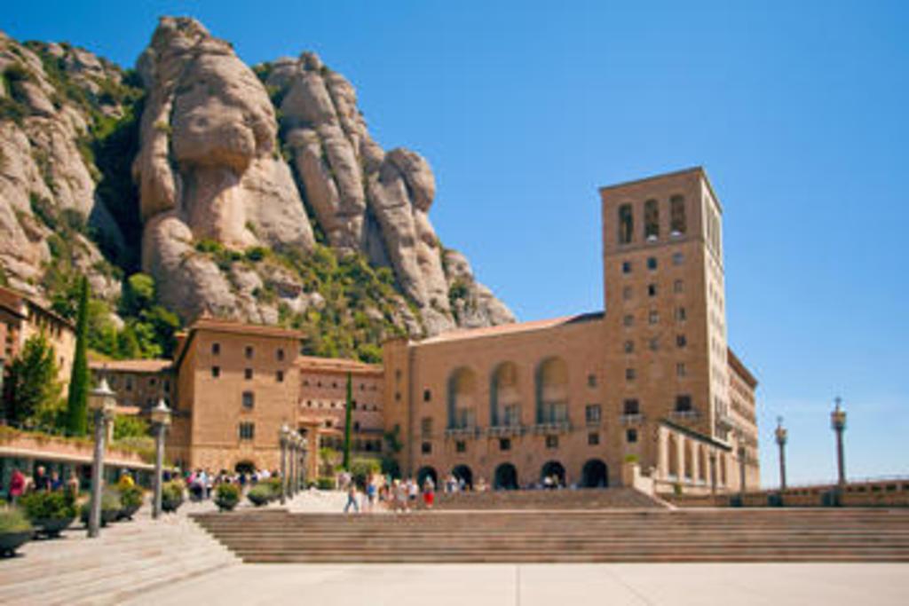 Monastery of Montserrat (45mn from Molins de Rei)