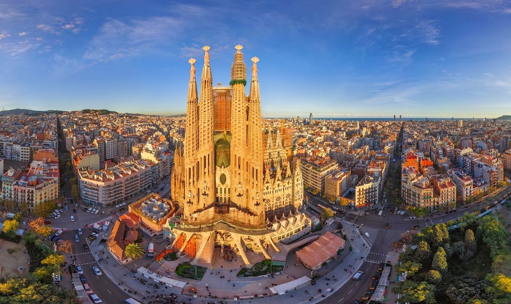 Sagrada Familia of Gaudí