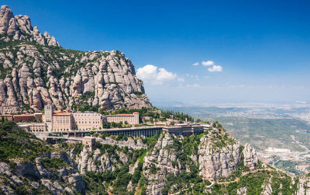Mountains of Montserrat (45mn from Molins de Rei)