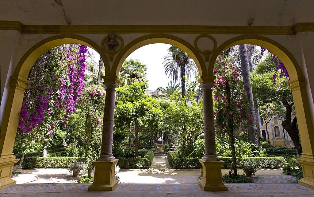 Sevillian patio